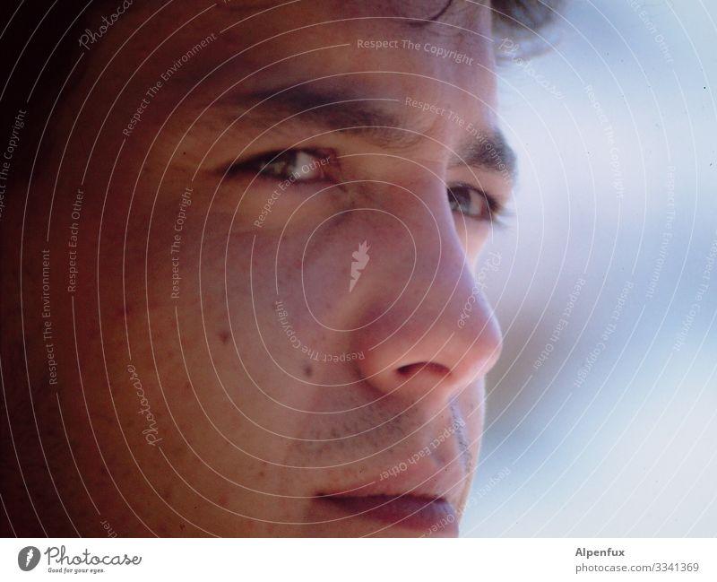 Ach ja, lang ist's her Mensch maskulin Junger Mann Jugendliche Gesicht 18-30 Jahre Erwachsene Blick Neugier rebellisch selbstbewußt Coolness Optimismus Tatkraft