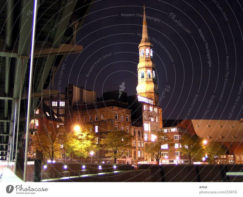 St. Katharinenkirche Religion & Glaube Hamburg Europa Baumkrone Protestantismus