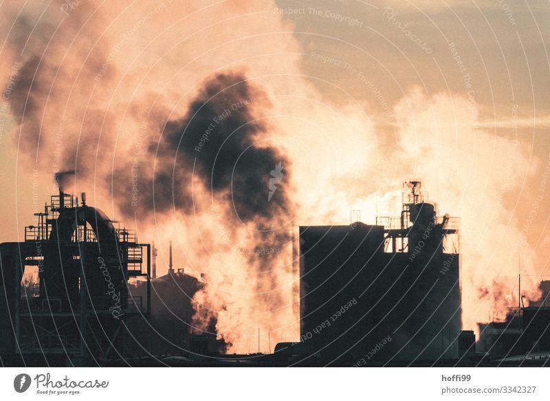 urban sunset Energiewirtschaft Kohlekraftwerk Industrie Chemieindustrie Sonnenaufgang Sonnenuntergang Schönes Wetter Industrieanlage Fabrik Treppe Fassade Dach