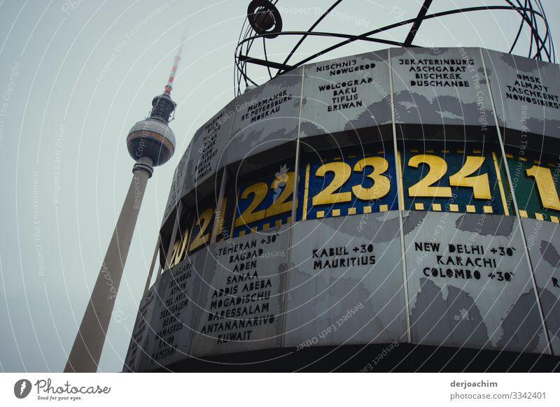 Treffpunkt Alexanderplatz schön Leben Herbst Umwelt Berlin Stil Deutschland Tourismus außergewöhnlich Design Uhr genießen Schönes Wetter Platz fantastisch