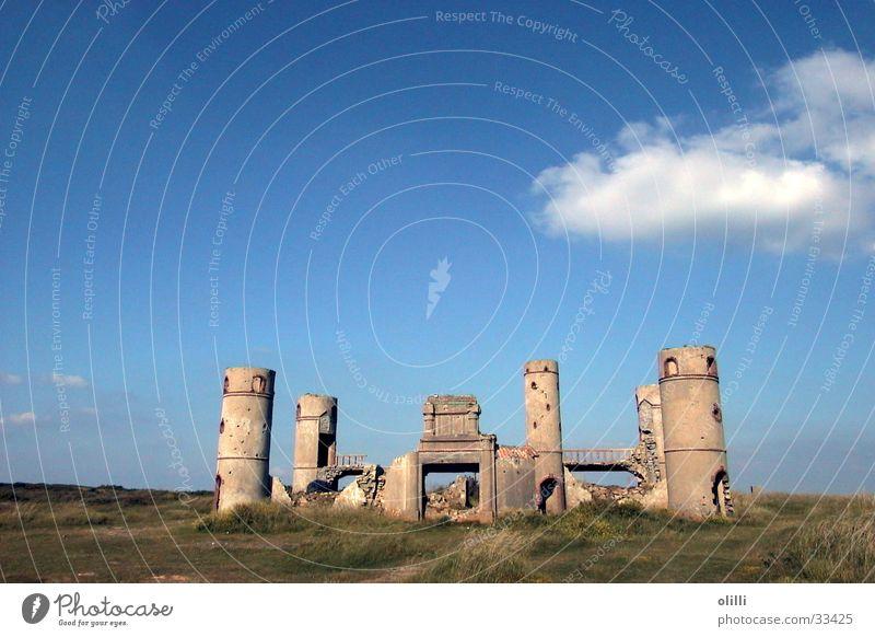 Ruine - wo genau weiß ich nicht Himmel Europa Frankreich Bretagne