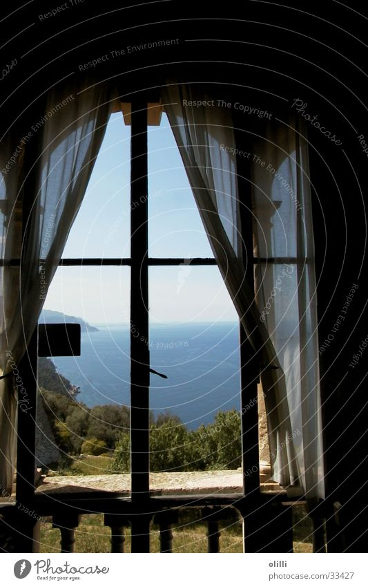 Son Marroig, Mallorca Fenster Europa Aussicht Mallorca Mittelmeer Son Marroig