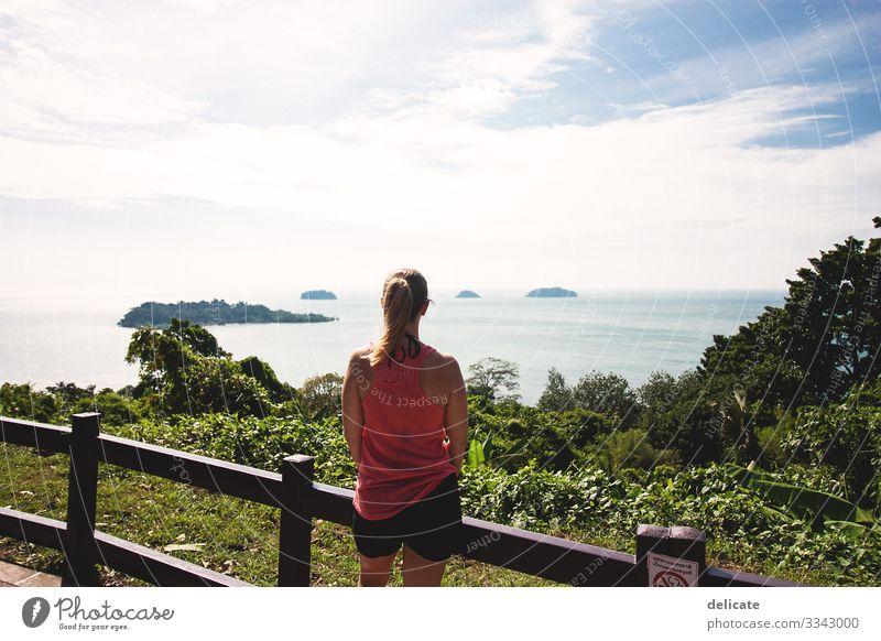 Fernweh Thailand Tourismus Tourist Urlaub Urlaubsstimmung Asien Südostasien Koh Chang Meer Strand Wasser Ferien & Urlaub & Reisen Farbfoto Sommer Erholung Küste