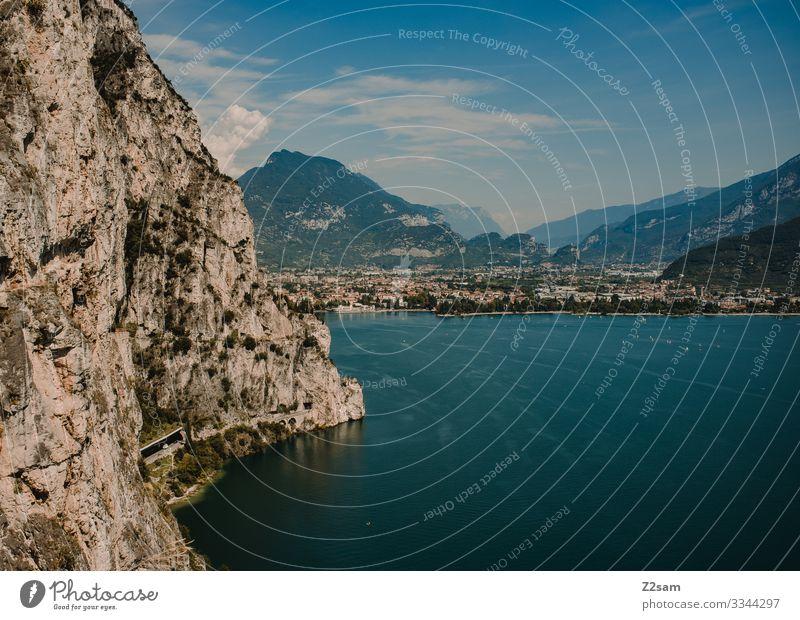 Ponale | Gardasee 2016 alpenüberquerung gardasee mountainbike mtb transalp ponale gardasse Berge u. Gebirge felsen italien norditalien wasser höhe bergsee