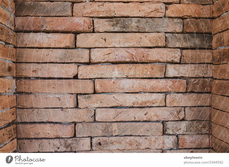 alte Ziegelwandtextur kann als Hintergrund verwendet werden Design Haus Tapete Kunst Gebäude Architektur Stein Beton dreckig modern retro grau Innenbereich