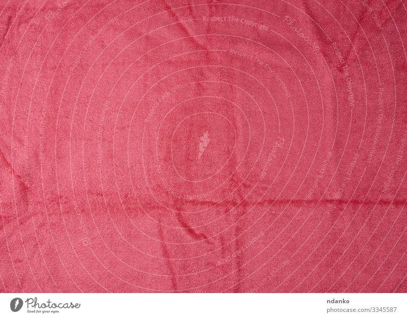 Textur der neuen flauschigen rosa Handtücher Stil Design Spa Strand Dekoration & Verzierung Küche Stoff modern Sauberkeit weich Farbe Handtuch Hintergrund Bad