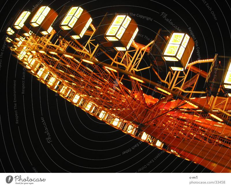 Riesenrad Beleuchtung Freizeit & Hobby Jahrmarkt Drehung