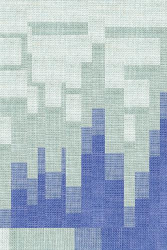 Leinenstruktur - Nahaufnahme der strukturierten Oberfläche - Farbkontrast - Modehintergrund Textur Hintergrund Gewebe Leinwand Textil natürlich Baumwolle