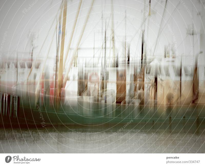 Rømø   kubismus kutter Küste Linie Kunst ästhetisch Zukunft Abenteuer Technik & Technologie Zeichen Hafen Gemälde Schifffahrt Topf Maler Fortschritt Fischerboot Dänemark