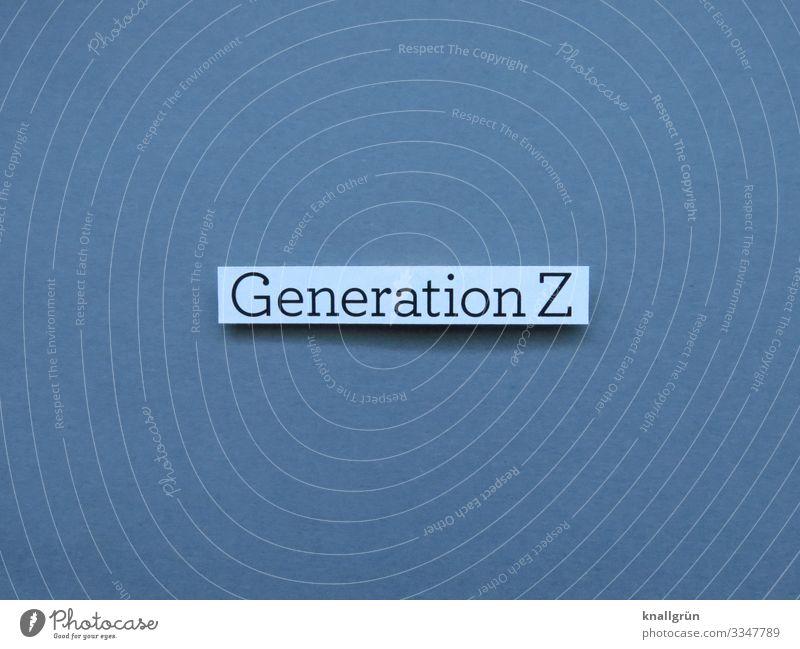 Generation Z Gesellschaft (Soziologie) Jugend Digital Sozialisation Prägung Zeitraum 1990er Jahre 2000er Jahre 13-18 Jahre 18-30 Jahre Mensch Lifestyle Medien