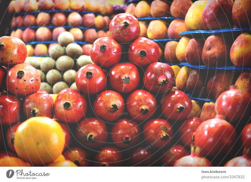 fruit towers Lebensmittel Frucht Apfel Orange Vegetarische Ernährung kaufen Design Ferien & Urlaub & Reisen Ferne Handel Essen exotisch frisch Gesundheit süß