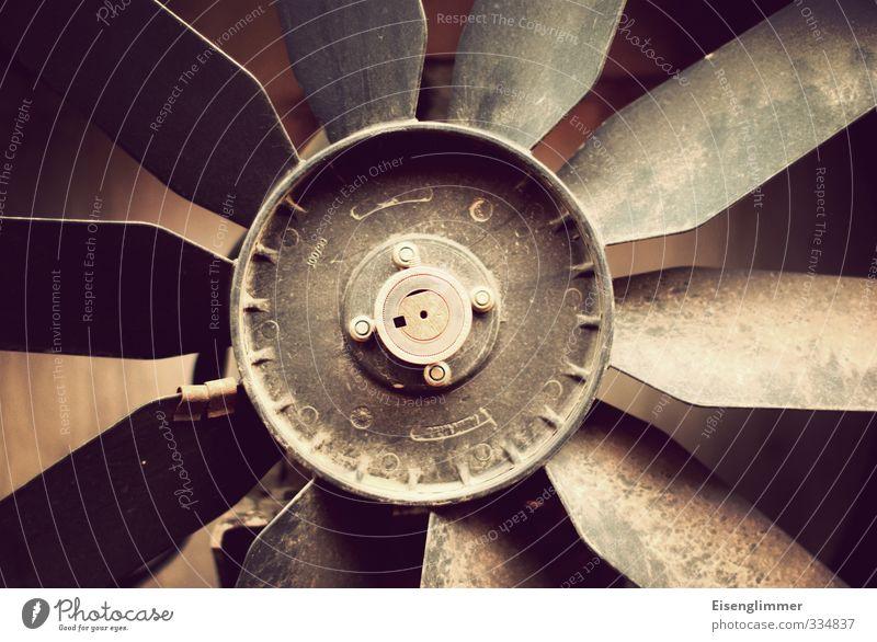 WILHELMSBURG/ gut gelüftet Lüftung Belüftung lüfterrad Maschine dreckig Kühlung Farbfoto Gedeckte Farben Außenaufnahme Detailaufnahme Menschenleer Tag
