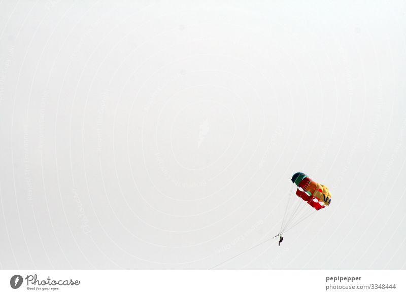 Tiefflieger Freizeit & Hobby Parasailing Ferien & Urlaub & Reisen Tourismus Ausflug Abenteuer Ferne Freiheit Sommerurlaub Sport Fitness Sport-Training