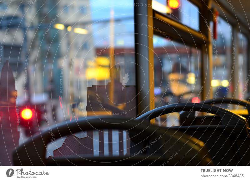 Berliner Stadtansicht Bus M48 im Oberdeck kaufen Freude sparen Freizeit & Hobby Ausflug Sightseeing Städtereise Busfahren Umwelt Klima Hauptstadt Stadtzentrum