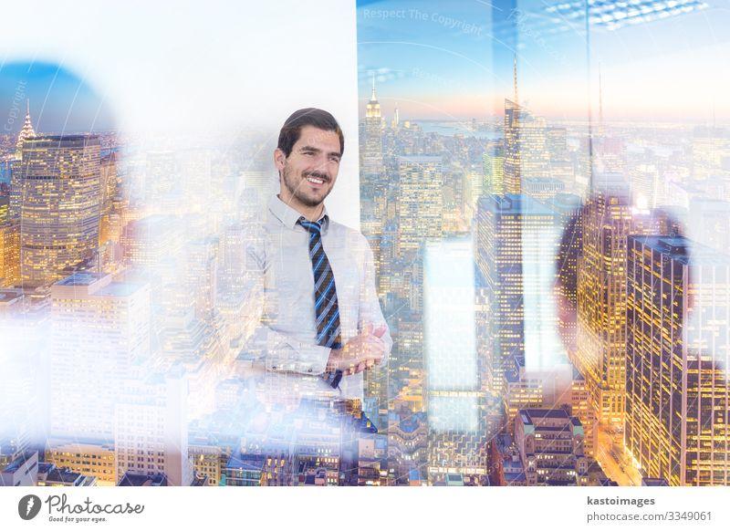 Entspanntes, informelles Bürotreffen des Geschäftsteams. Glück Zufriedenheit ruhig Erfolg Arbeit & Erwerbstätigkeit Beruf Arbeitsplatz Business Unternehmen