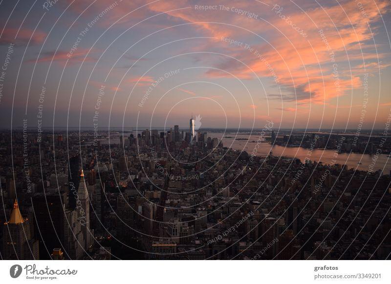 Good Evening NY Lifestyle kaufen Stil Ferien & Urlaub & Reisen Tourismus Ausflug Abenteuer Ferne Freiheit Sightseeing Städtereise Stadt Hauptstadt Stadtzentrum