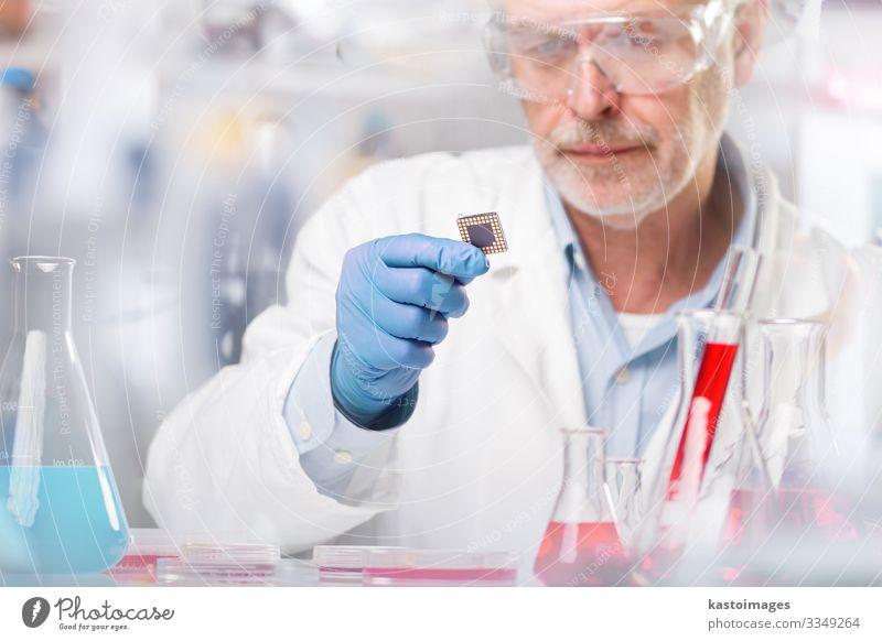 Biowissenschaftliche Forschung. Gesundheitswesen Medikament Leben Wissenschaften Labor Prüfung & Examen Arbeit & Erwerbstätigkeit Technik & Technologie Mensch