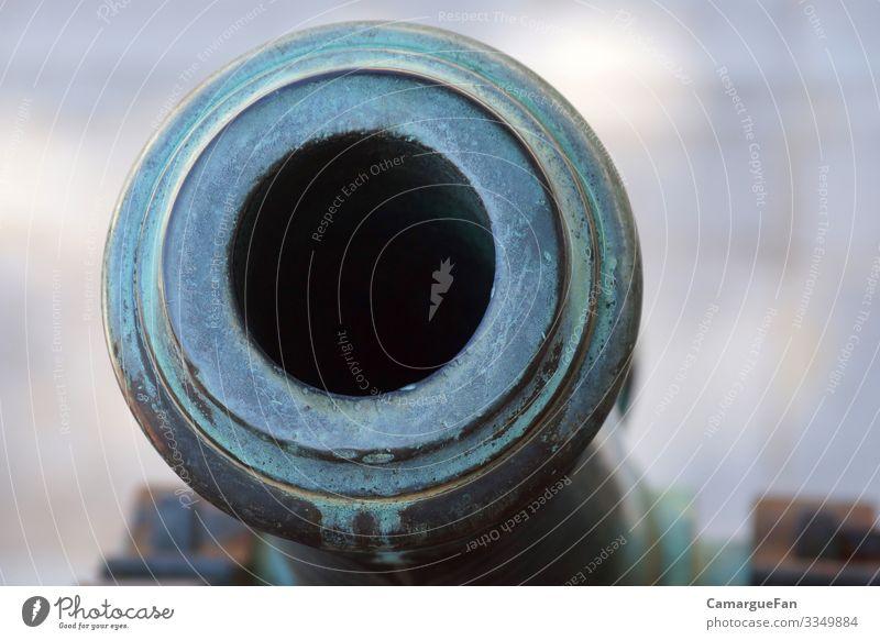 Einblick Sammlerstück Kanonen Metall Historie authentisch historisch kalt blau grau Ehre Tapferkeit Kraft Macht Sicherheit Schutz Solidarität Verantwortung