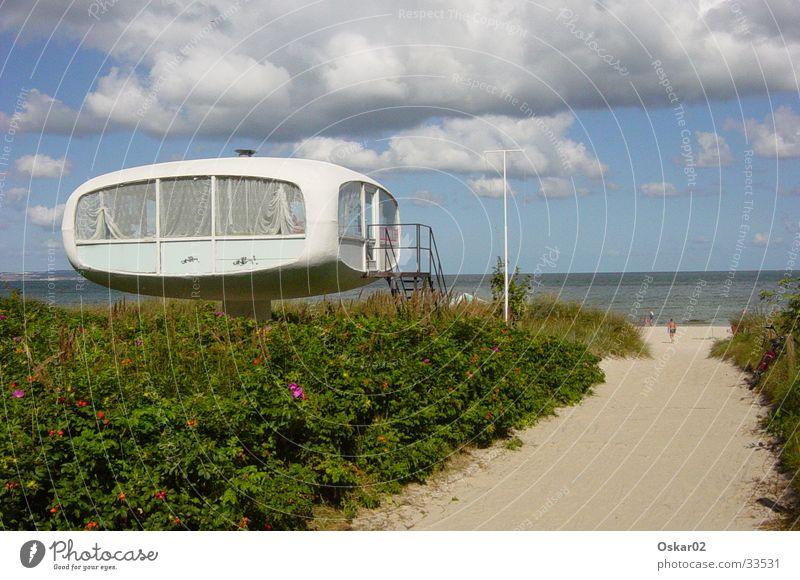 Meerblick Strand Architektur Beton DDR Rügen Ostalgie