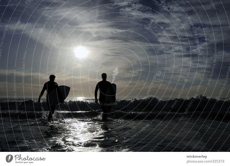 joy riders Mensch Jugendliche Ferien & Urlaub & Reisen Sonne Meer Freude Strand Erwachsene Umwelt Junger Mann Leben Sport 18-30 Jahre Freiheit Glück Stil