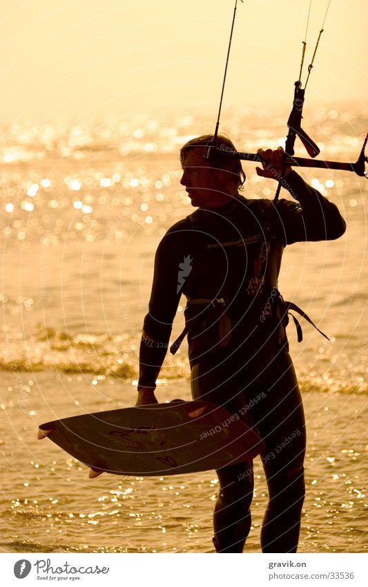 Kiting Wasser Sport Aktion Freizeit & Hobby Nordsee