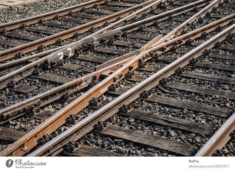 Eisenbahnschienen Lifestyle Stil Design Freizeit & Hobby Modellbau Modelleisenbahn Ferien & Urlaub & Reisen Arbeit & Erwerbstätigkeit Beruf Arbeitsplatz