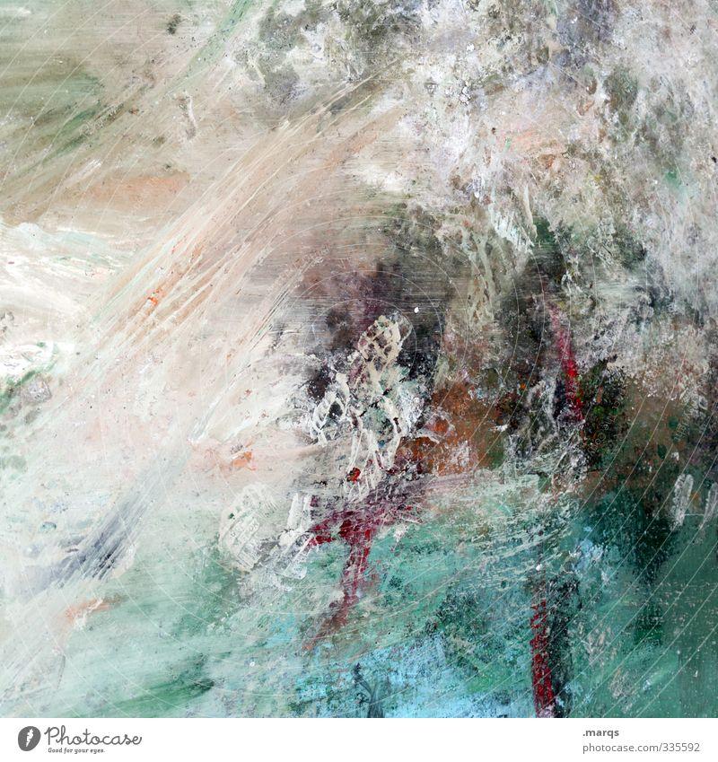 Verwaschen Stil Design Anstreicher Kunst ästhetisch außergewöhnlich einzigartig schön verrückt Farbe Schmiererei Farbstoff Hintergrundbild Farbfoto mehrfarbig