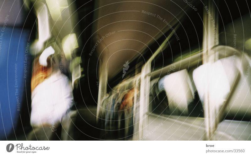 eine zugfahrt Eisenbahn Fototechnik Lomografie