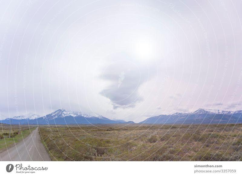 Road Natur Landschaft Himmel Wolken Berge u. Gebirge Gipfel Schneebedeckte Gipfel Gletscher Verkehrswege Fahrradfahren Straße Wege & Pfade Abenteuer wegfahren