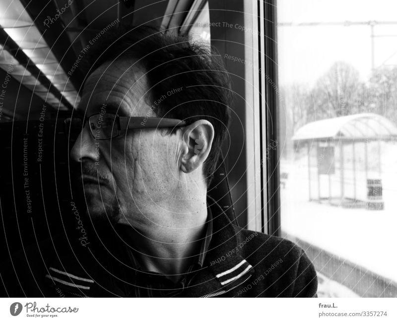 Abfahrt Belgien Verkehr Verkehrsmittel Personenverkehr Öffentlicher Personennahverkehr Schienenverkehr S-Bahn fahren Blick Gelassenheit Kusttram Straßenbahn