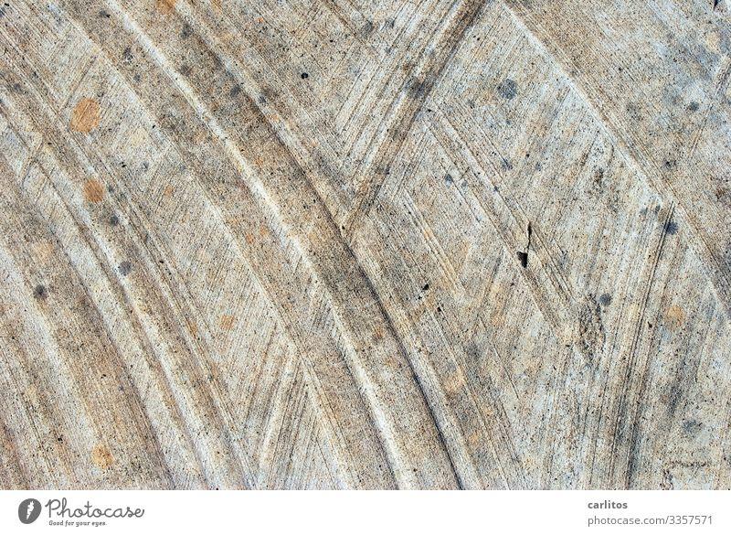 Linien 2 Kreis konzentrisch Muster Strukturen & Formen Hintergrundbild diagonal abstrakt Bogen Gotik Sandstein Sägespuren Schleifspuren