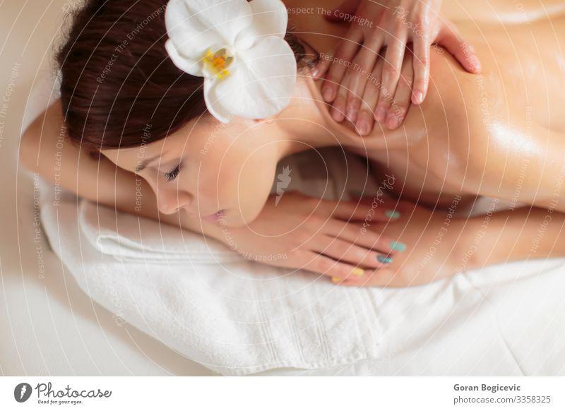 Massage Lifestyle schön Körper Haut Gesicht Gesundheitswesen Behandlung Wellness harmonisch Erholung Mensch Junge Frau Jugendliche Erwachsene Hand 1 18-30 Jahre