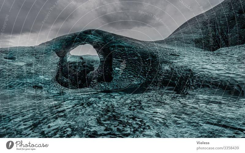 eiszeit | gletscher Schnee Eis Frost Gletscher kalt blau Jökulsárlón Gletscher Vatnajökull Lagune Island Eisberg Gletscherzunge Farbfoto