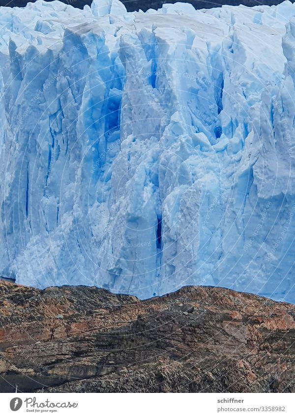 Argentinische | Eiszeit II Umwelt Natur Landschaft Klima Klimawandel Frost Felsen Berge u. Gebirge Gletscher kalt blau Perito Moreno Gletscher