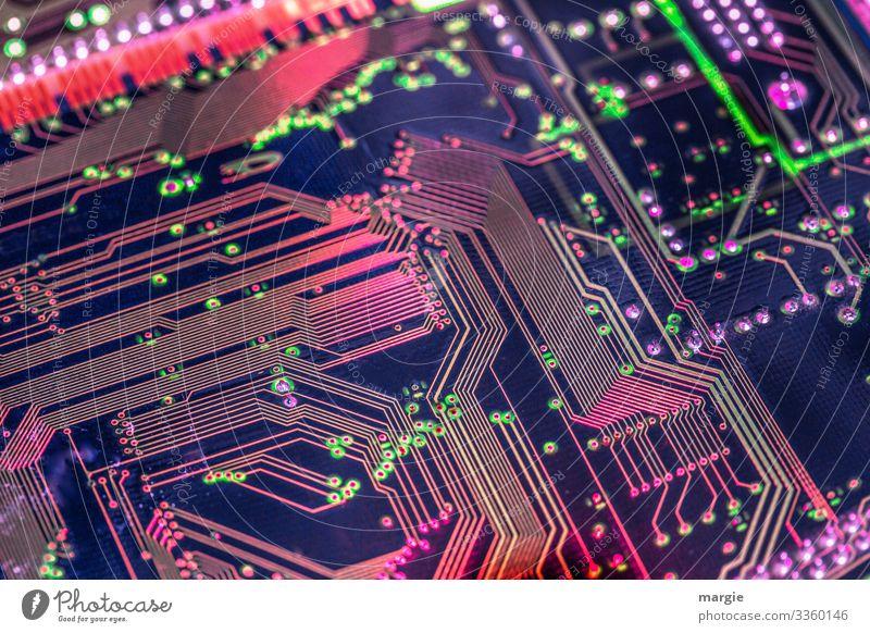 dynamisch   Technische Errungenschaft Computer pc karte Technik & Technologie Computernetzwerk Computer-Nutzer Computerspiel Leitungen Löten Bahnen ziehen