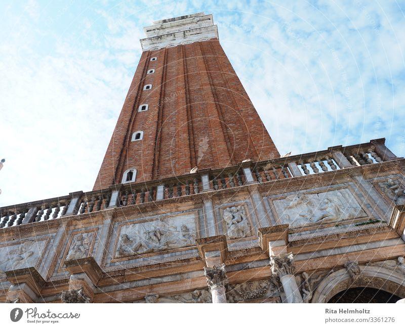 Campanile di San Marco, Venedig, Italien Architektur Turm Marktplatz Campanile San Marco ästhetisch außergewöhnlich Bekanntheit gigantisch hoch Originalität