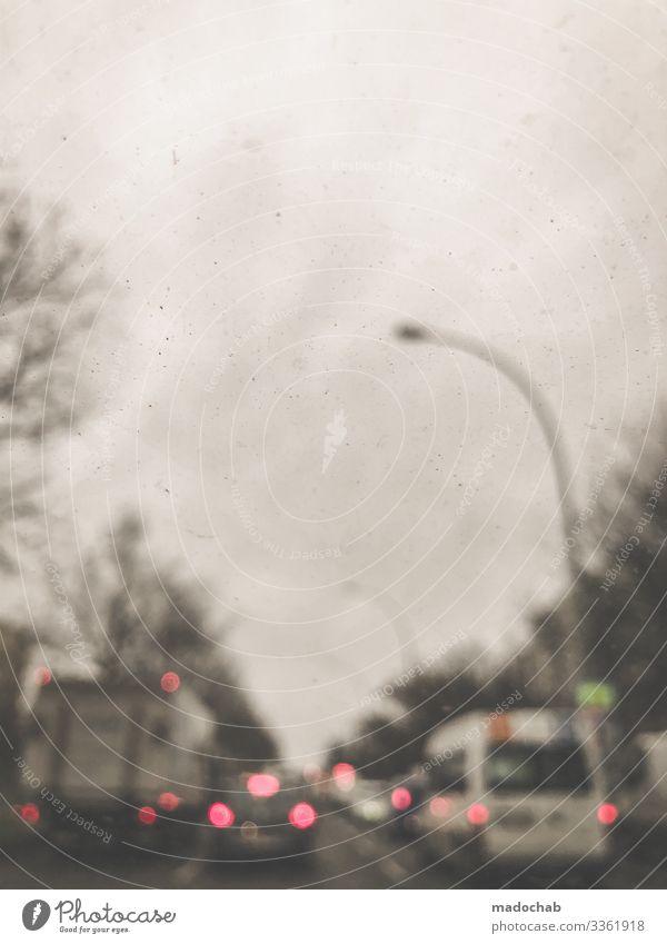 Brille vergessen Klima Klimawandel Verkehr Verkehrsmittel Verkehrswege Personenverkehr Autofahren Straße Wege & Pfade Fahrzeug PKW Aggression Ordnung Pause