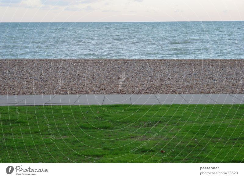 strandstreifen Meer Strand England