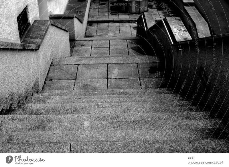 stairway alt Architektur Stein Treppe