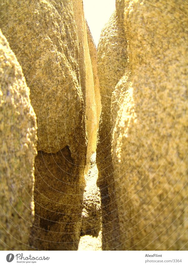 feslspalte Stein Felsen Spalte