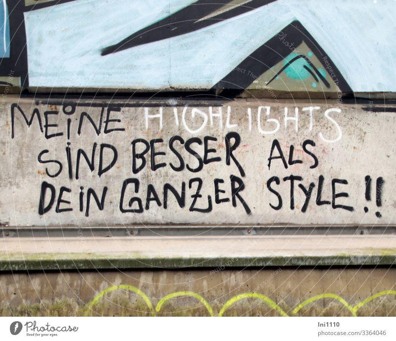 Mitteilung | UT Hamburg Ferien & Urlaub & Reisen blau weiß schwarz gelb Wand Tourismus Mauer Fassade grau Freizeit & Hobby Schriftzeichen Coolness Städtereise