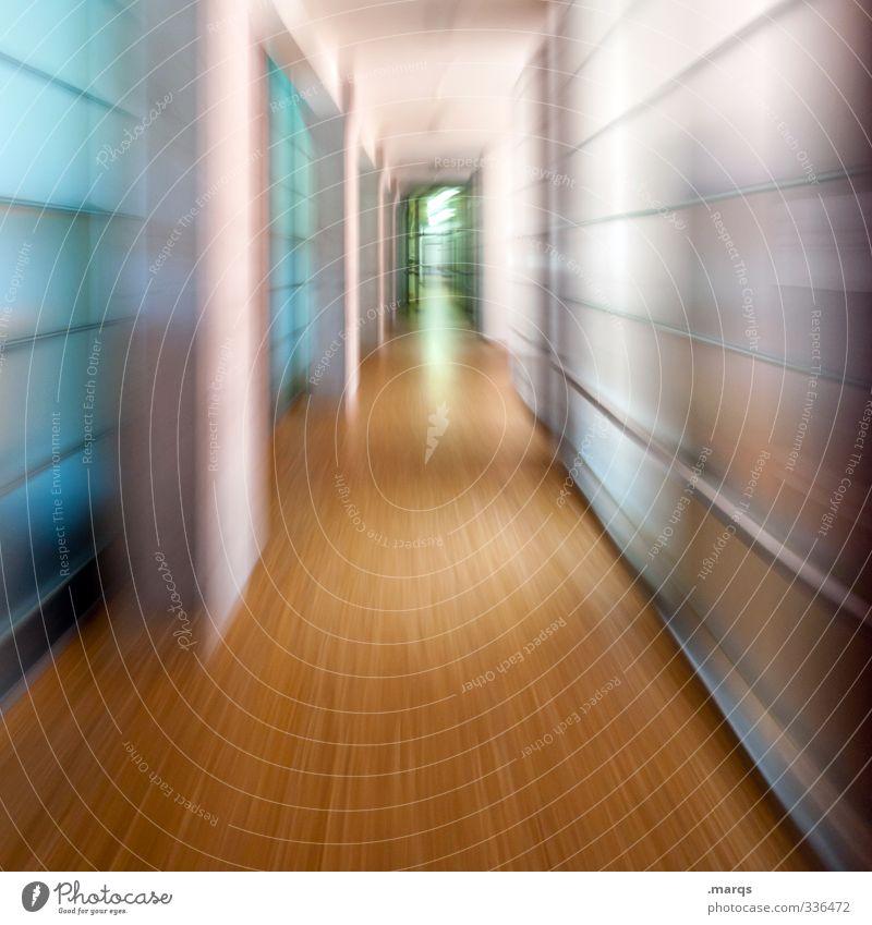 Eile Wege & Pfade Stil außergewöhnlich Business Tür Design Geschwindigkeit Beginn Zukunft Ziel rennen Sitzung Stress Karriere Termin & Datum