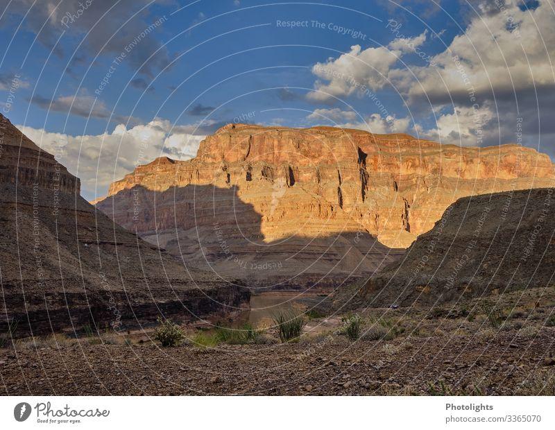 Grand Canyon Nationalpark Ferien & Urlaub & Reisen Tourismus Abenteuer Ferne Freiheit Sommerurlaub Rundreise Umwelt Natur Landschaft Erde Sand Himmel Wolken
