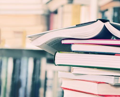 Bücherstapel Lifestyle Wohnung Bildung Erwachsenenbildung Schule lernen Berufsausbildung Prüfung & Examen Lesesaal geistreich Verlag Arbeitsplatz Printmedien