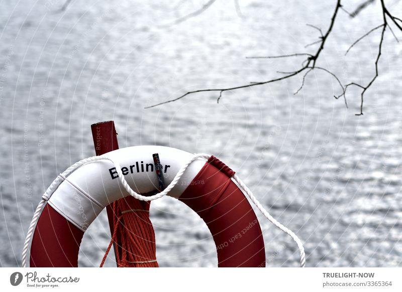 ... auch für Berlinerinnen Ferien & Urlaub & Reisen Natur Sommer Wasser weiß Landschaft rot ruhig Strand Herbst Umwelt Frühling See Schwimmen & Baden grau