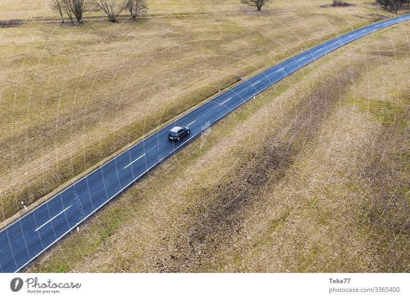 #Auto von Oben #2 Winter Verkehr Verkehrsmittel Verkehrswege Straßenverkehr ästhetisch PKW Farbfoto Außenaufnahme Luftaufnahme Vogelperspektive