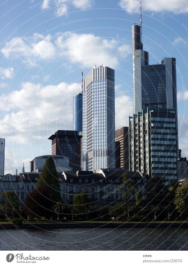 Frankfurter Moderne Architektur Frankfurt am Main Bürogebäude Arichtektur modern