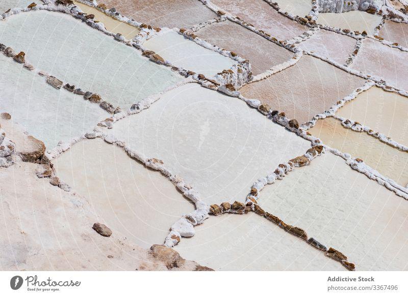 Abstrakte bunte Steintreppen Textur abstrakt Material Konstruktion Beton Architektur Struktur Design dreckig rau dekorativ solide Raum geknackt Grunge Kunst