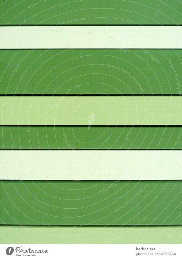 !Trash! | Happy stripes Lifestyle Häusliches Leben Haus Mauer Wand Fassade Linie Streifen Fröhlichkeit frisch hell grün Design Farbe Hoffnung Kunst Sinnesorgane