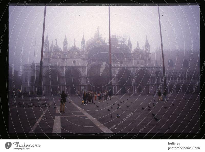 novembernebel in venedig Architektur Nebel Italien Venedig November